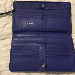 Banana Republic Blue Wallet